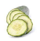 Cucumber slices — Stock Photo