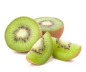 Kiwi fruit sliced segments — Stock Photo