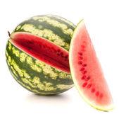 Gesneden rijp watermeloen — Stockfoto