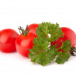 Small cherry tomato and parsley spice — Stock Photo #19439517