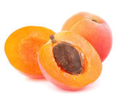 Ripe apricot fruit — Stock Photo