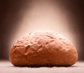 Loaf of wheat bread — Stock Photo