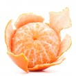 Peeled tangerine or mandarin fruit — Stock Photo #23183104