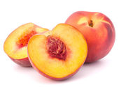 Ripe peach fruit — Stock Photo