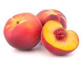 Ripe peach fruit — Stock Photo