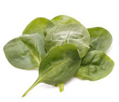 Szpinak warzywa wyłącznik — Zdjęcie stockowe