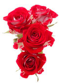 Red rose flower bouquet — 图库照片