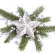 Christmas decoration isolated on white background — Stock Photo