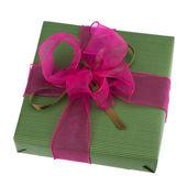 Scatola regalo festa — Foto Stock