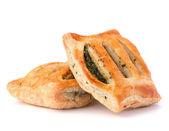 Puff pastry bun — Stock Photo