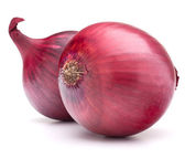 Red onion bulb — Stock Photo