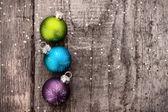Christmas decoration ball — Stockfoto