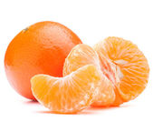 Tangerine or mandarin fruit — Stock Photo