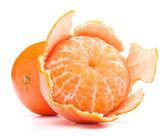 Peeled tangerine — Foto de Stock