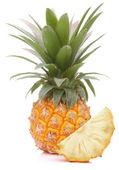 Pineapple tropical fruit or ananas — Stock Photo