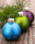 Christmas decoration balls — Stockfoto