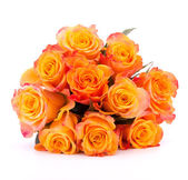 Yellow rose flower bouquet — Stockfoto