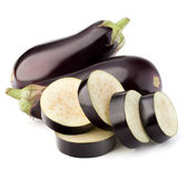 Eggplant or aubergine vegetable — Stock Photo