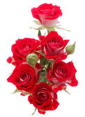 Red rose flowers bouquet — Stock Photo