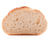 Slice of fresh white bread — Stock Photo