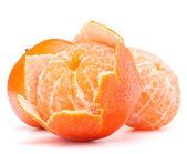 Peeled tangerine fruit — Stock Photo