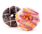 Two doughnuts — Stock Photo