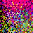 Abstract Vector Geometric Color Background - Vektorgrafik
