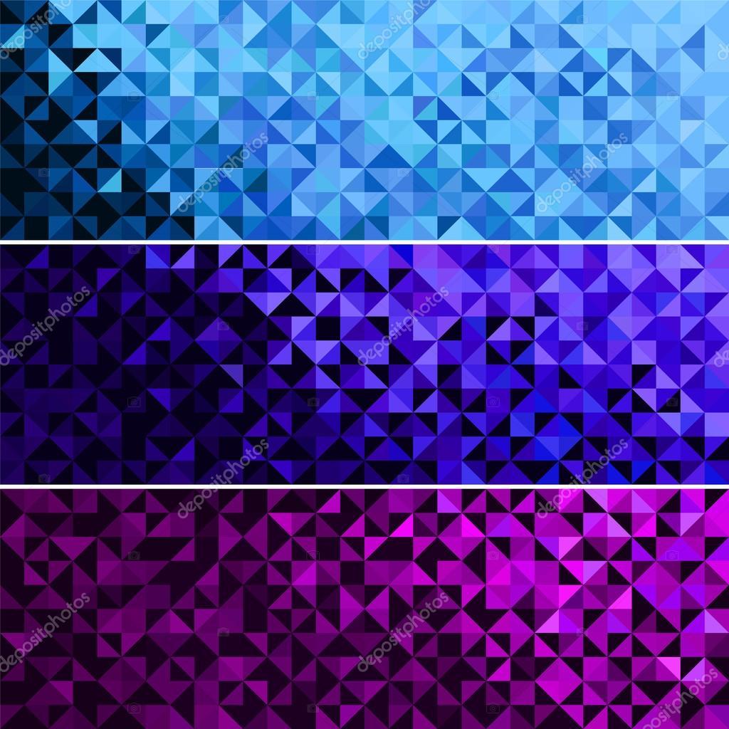 Синие Абстрактные фоны  примеры иллюстраций c микростоков