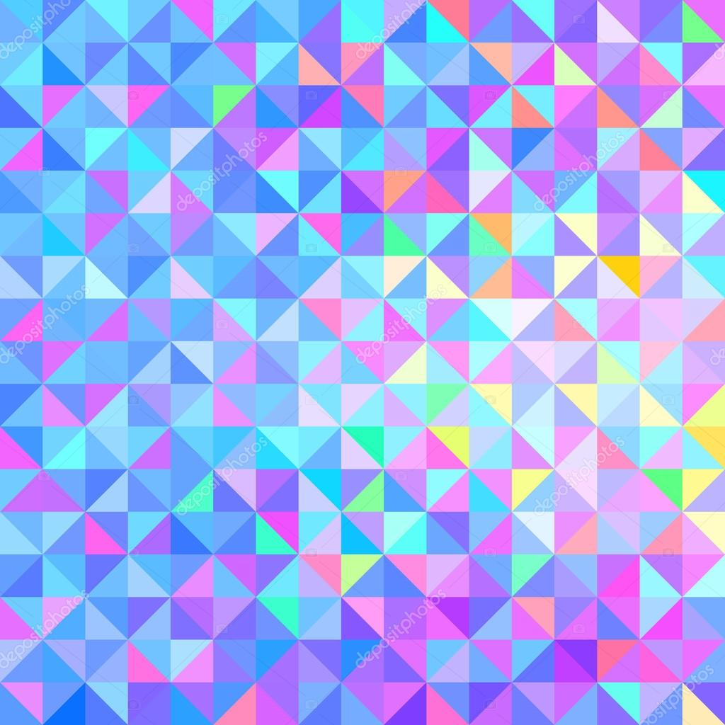 Abstract Vector Geometric Color Background Stock Vector
