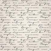 Seamless abstract handwritten text pattern — Stock Vector