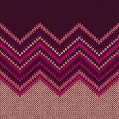 Malha padrão de tecido sem costura, lindas texturas de malha rosa vermelha — Vetor de Stock