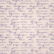 Seamless abstract handwritten text pattern — Grafika wektorowa