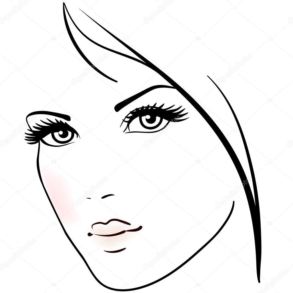Лицо у девушки раскраска