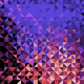 Abstrakt geometrisk bakgrund — Stockvektor