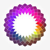 Abstracte digitale bloem — Stockvector