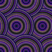 Seamless Multicolor Ethnic Geometric Knitted Pattern. Style Circ — Stock Vector