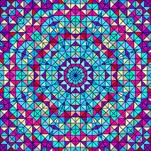 Abstraktní vektorová geometrické barva pozadí — Stock vektor