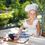 Little chef — Stock Photo