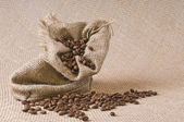 Coffee sack — Stock Photo