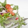 Fresh green vegetable salad — Stock Photo