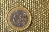Moneda de un euro — Foto de Stock