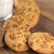 Homemade cookies with nuts — Stock Photo #40123925