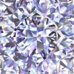 Diamond geometric pattern of colored brilliant triangles — Stock Photo #16647891