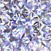 Diamond geometric pattern of colored brilliant triangles — Stock Photo