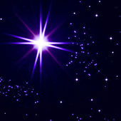 Starry sky — Stock Photo