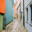 Foto Stock: Narrow street