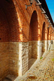 Fortified wall — Stock Photo