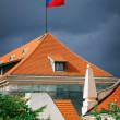 Flag On The Roof — Stock Photo #13709258