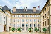 Prague Castle Courtyard — Stock Photo