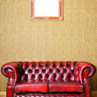 Sofa and Frame - Stock Photo
